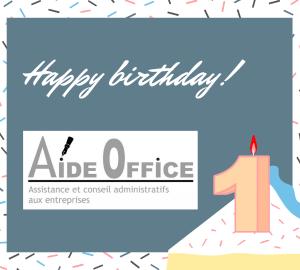 joyeux anniversaire Aide Office