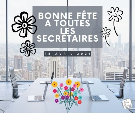 fête des secrétaires et assistants