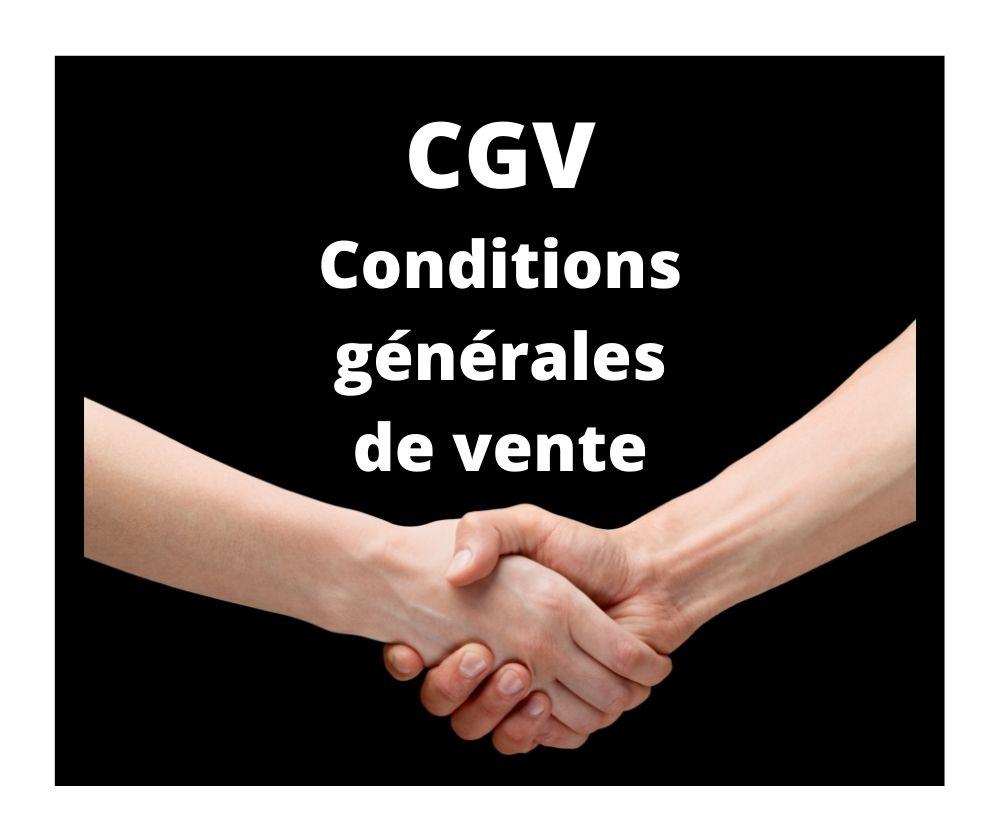 CGV conditions générales de vente